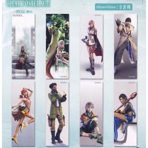 FINAL FANTASY XIII (set completo) Mini Posters plásticos translúcidos (A)
