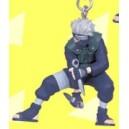 Naruto Llavero con figura (Kakashi)
