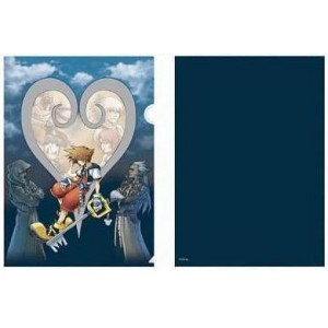 KINGDOM HEARTS I  (B) Folder Plástico Flexible