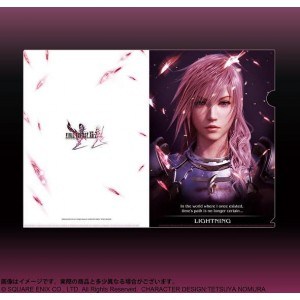 FINAL FANTASY XIII-2 (Lightning) Folder Plástico Flexible