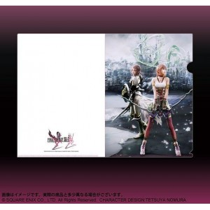 FINAL FANTASY XIII-2 (Lightning y Serah) Folder Plástico Flexible