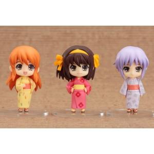 HARUHI SUZUMIYA (set completo) 3 figuritas mini nendoroid