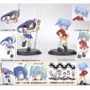 IKKITOUSEN MicroPopo Show Figuras estáticas PVC Kanu y Ryoffu
