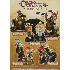 CHRONO TRIGGER Formation Arts figuras (set completo)