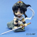 CLAMP 3D Figurita trading Magic Knight Rayearth (Fuu Hououji)